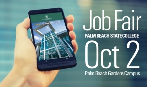 "There's an app for that! Plan Your Job Fair with free app: go to Apple's App Store or Google Play and search for ""PBSC Career Fair Plus."""