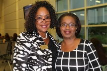 Robin Johnson, director of recruitment and dual enrollment, and Sharon Simmons, coordinator of Summer Quest